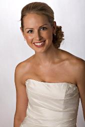 Classic Side Up-do for Brides and Weddings in Chicago