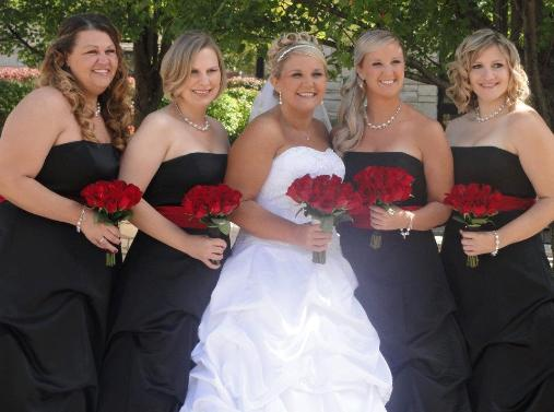 Hairstyles for Bridal party's in Glenview and North Suburbs